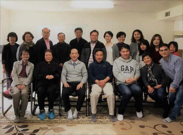 2017년 2월 25일 순복음금식기도원에서 수련회