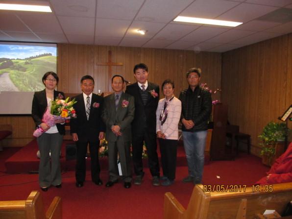 2017년 징로 장립 및 제직 임명 기념사진