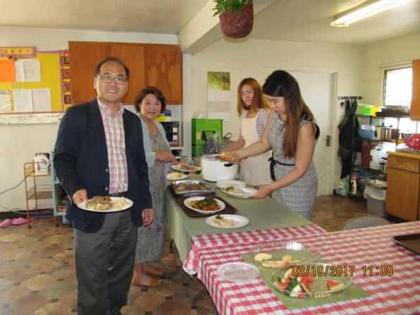 교회를 섬기는 김대오 선교사 가정
