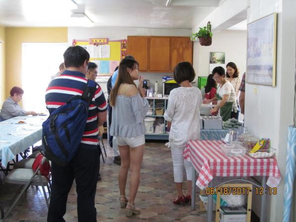 2017년 6월 18일 주일예배 후 식탁친교