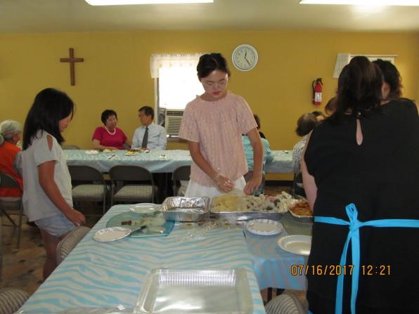 김재문 목사님 부부와 더불어 나누는 생명의 떡 친교